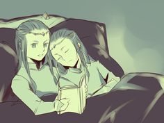 Bedtime - Child Elrond and Elros