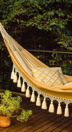 hapiness is a hammock     cotton hammock handmade hammock indoor hammock white hammock      rh   pinterest