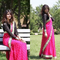 One of my most personal favorite look is posted. on the blog Sari is designed by yours truly ME!! (First time wearing a Sari) Check it out at www.glamourbyzee.com by zeezstyle
