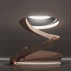 Beautiful staircase designed by . What about you, archi-lovers? What do you think about this staircase? Staircase Architecture, Luxury Staircase, Architecture Today, Spiral Staircase, Futuristic Architecture, Staircase Design, Interior Architecture, Staircase Ideas, Interiors Magazine