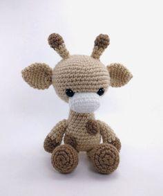 PATTERN: Crochet giraffe pattern  amigurumi giraffe pattern