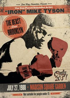 old school boxing posters - Mike Tyson, Boxe Fitness, Combat Boxe, Boxing Posters, Boxing History, Caricature, Boxing Champions, Boxing Images, Chef D Oeuvre