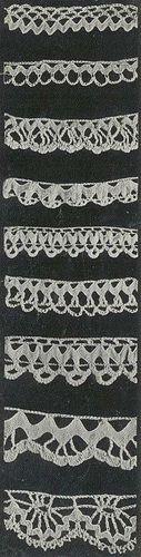 Nine Small Crochet Edgings pattern