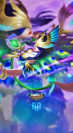 Wallpaper Phone Pharsa Peafowl Pharsa by FachriFHR on DeviantArt Anime Characters, Fantasy Characters, Female Characters, Moba Legends, Alucard Mobile Legends, Character Art, Character Design, Videos Anime, Android Mobile Games