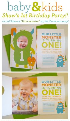 would be so cute to cut out places in the monster for one of hte kids face and in the cupcake for another.  Very cute halloween card idea. Cupcake could be larger