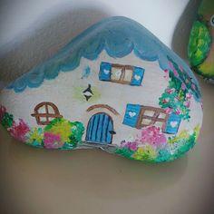 #taşboyama #taşboyamasanatı #taşboya #taşev #stoneart #stonepainting #antalya #hediyeliktaş