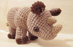 Amigurumi Rhylie the Rhino