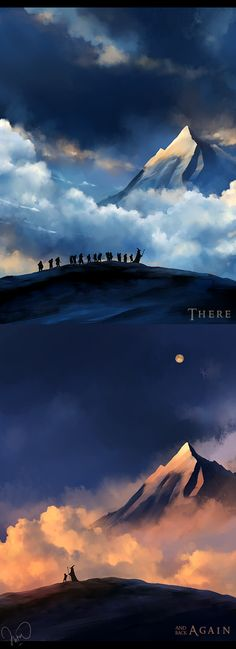 there and back again . by megatruh.deviantart.com on @deviantART // Found the whole picture! And it's by megatruh!!