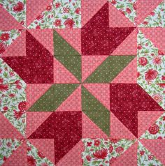 Four Winds Quilt Block and February Weather - Starwood Quilter