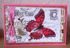 Postcard butterfly