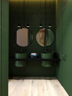 Conception de la salle de bain en vert parfait- Bathroom design in perfect green Conception de la salle de bain en vert parfait -#bain #Conception #parfait #salle #vert