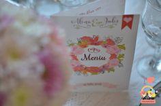 meniu-nunta-personalizat-vintange Napkins, Tableware, Floral, Dinnerware, Towels, Dinner Napkins, Tablewares, Flowers, Dishes