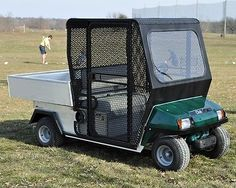 ** Club Car Carry All 1 or Turf 1 Golf Cart  Aluminum Range Cage ** CA1RC