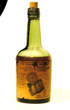 Vin Mariana (with cocaine):Vin Mariani was a very popular wine and coca productIt was so popular that American John Pemberton manufactured a similar product that he called French Wine Coca.  Pemberton removed the alcohol and his product evolved into the modern day Coca Cola.