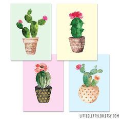 As a collector of cactus postcards I had to design some as well! ❤️ Hope to get them printed and online soon! #postcrossing #postcards #postcard #webshop #etsyseller #snailmail #happymail #echtepost #kaartje #floral #watercolor #stationery #flowers #etsyshop #penpal #cactus #cactuses #cactussen #cactusclub #cactusliefde #ansichtkaart
