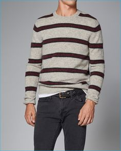 39a5b04b904 Channel Your Preppy Stud in Abercrombie   Fitch s Striped Sweaters
