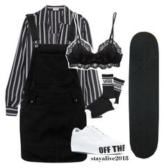 """""""winter in the city"""" by stayalive2018 ❤ liked on Polyvore featuring Frame, Boohoo, Eberjey and Vans"""