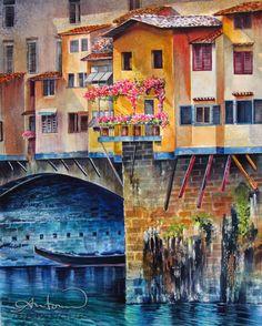Ponte vechio florencia Italia