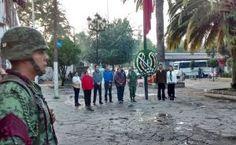 Obras - Homenaje póstumo a las victimas del sismo del 85 - H. Ayuntamiento de Tepetlaoxtoc