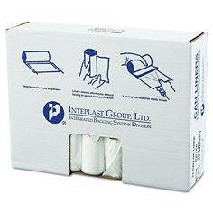 Inteplast Group 33gal 33 x 39 High-Density Can Liners