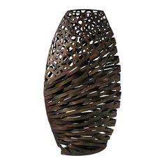 Cyan Design 03019 Alicia Wire Sculpture Vase, Byzantine Oxide