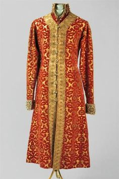 The under-gown of masquerade suit of Nikolay II he wore at The Romanov Anniversary Ball of 1903.