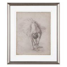 Ballerina Study 1 | Framed Art | Art by Type | Art | Z Gallerie
