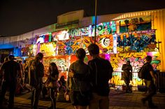NOLA Live Gallery Presented by Lowe's Home Improvement and curated by DPA Universe at BUKU 2014 #toobuku