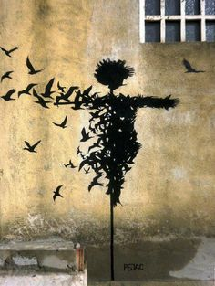banksy #graffiti #stencil