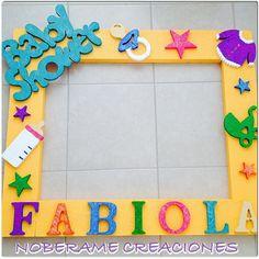 Resultado de imagen para decoraciones DE marcos en anime para fiestas infantiles Photo Booth Picture Frames, Party Photo Frame, Party Frame, Baby Shower Balloons, Baby Shower Parties, Baby Boy Shower, Baby Shower Gifts, Baby Shower Pictures, Baby Shawer