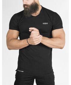 f9e591d9d73f8 Echt Legacy T-Shirt Black