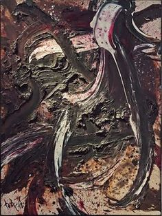 Composition BB41 - Kazuo Shiraga 1962
