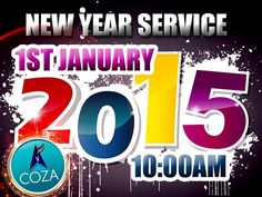 Join us for our New Year Service by 10am at COZA, Guzape Hills, Asokoro Extension as Pastor Biodun Fatoyinbo declares the word for 2015.  Not in Abuja? Join live via www.cozanigeria.tv or www.cozairadio.com.  We celebrate you!