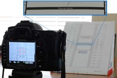 How to test the auto focus on your DSLR (calibration)