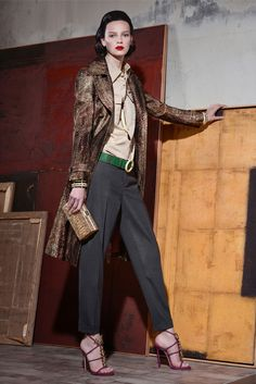 Dsquared² | Resort 2015 Collection | Style.com (Love the sandal with tailored pant)