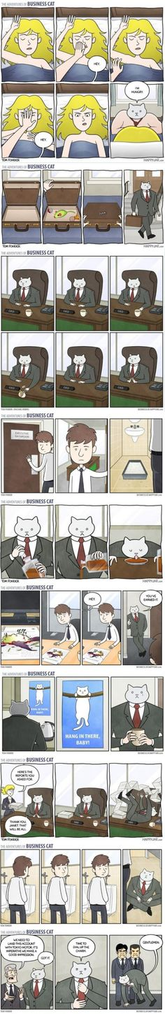 The Adventures of Business Cat - this is really really random