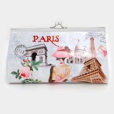 """Cute Le Paris Multicolor Chain Purse Wallet. Free shipping and guaranteed authenticity on Cute Le Paris Multicolor Chain Purse Wallet at Tradesy. Purse is 7.5"""" wide x 4"""" high x 2"""" diameter 11"""" lo..."""