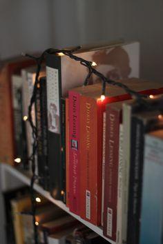 books-tea-wanderlust:  Doris Lessing bookshelf