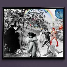 Pop Culture, Wizard of Oz, Lady Gaga, Prince, Bowie Wall Art   Lisa Jaye Art Designs