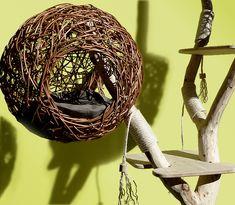 Bei uns finden Sie Katzenbaum Design mit natürlichen Materialien. Besuchen Sie Treestyle! - Der Designschmiede für individuelle Tiermöbel und Objekte aus Bäumen.
