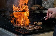 Bbq, Cook, Fire, Eat, Burgers