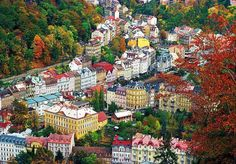 KARLOVY VARY (Carlsbad) Czech Republic - famous for its spas! Can't wait to visit in June!