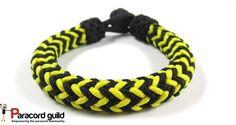 Herringbone knot paracord bracelet.