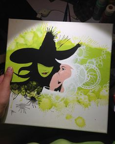 #broadway #wicked #canvas