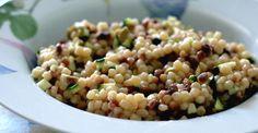 Fregula (fregola) alle lenticchie e zucchine
