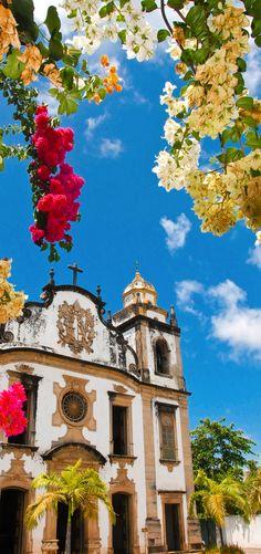 Mosteiro de São Bento, Olinda, Brazil