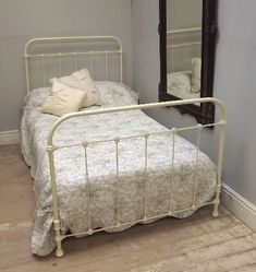 FRENCH ANTIQUE IRON BED