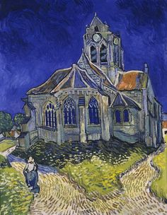 Vincent van Gogh The Church at Auvers sur Oise print for sale. Shop for Vincent van Gogh The Church at Auvers sur Oise painting and frame at discount price, ships in 24 hours. Art Van, Van Gogh Art, Vincent Van Gogh, Framed Art Prints, Painting Prints, Painting Abstract, Abstract Canvas, Framed Wall, Painting Art