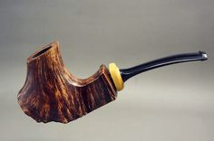 """The eruption "" pipe Wooden Pipe, Pipes And Cigars, Tobacco Pipes, Smoking Pipes, Crafts To Make, Jin, Meerschaum Pipe, Artesanato, Gin"