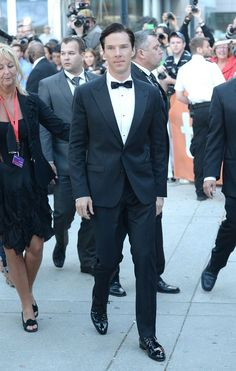 When he wore this tux complete with an actual BOW TIE and we basically died on the spot.